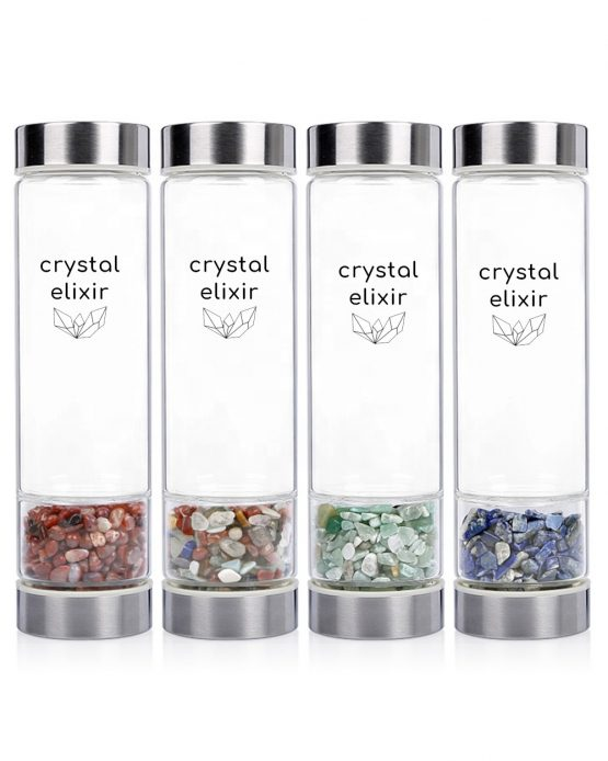 Crystal Elixir Water Bottle Four Pack