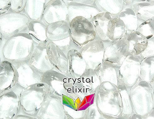 Clear Crystal Tumbled Stones