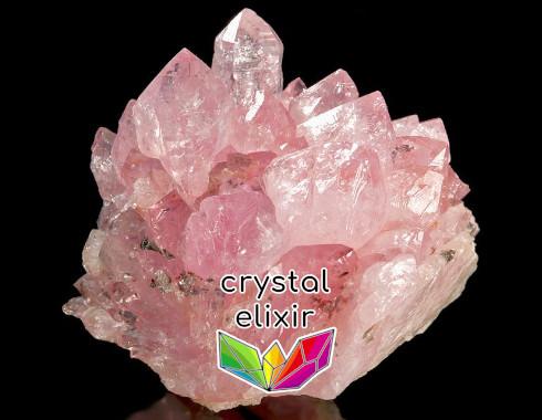 Rose Quartz Crystal Cluster